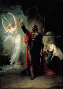 """Prospero and Miranda"" by William Maw Egley"