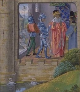 Richard II taken into custody by the Earl of Northumberland